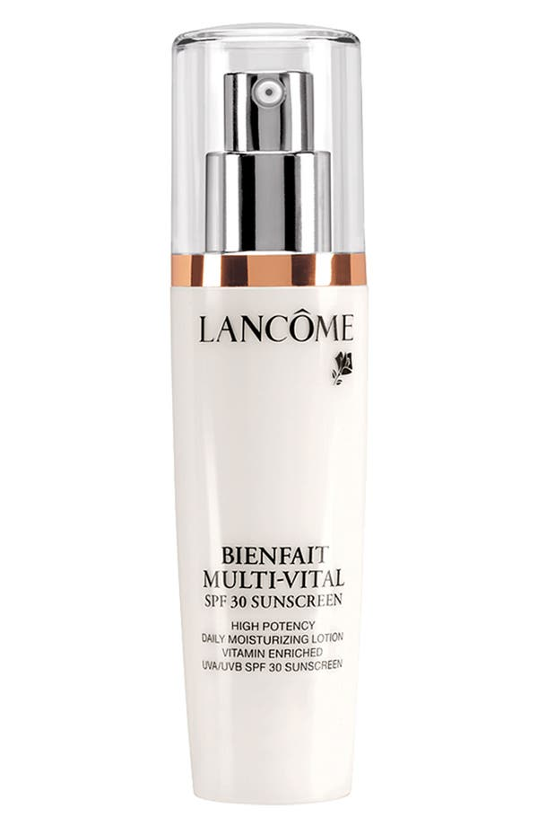 Alternate Image 1 Selected - Lancôme Bienfait Multi-Vital SPF 30 Sunscreen