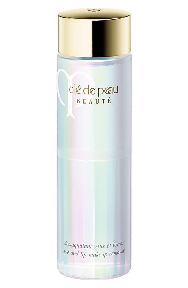 Alternate Image 1 Selected - Clé de Peau Beauté Eye and Lip Makeup Remover