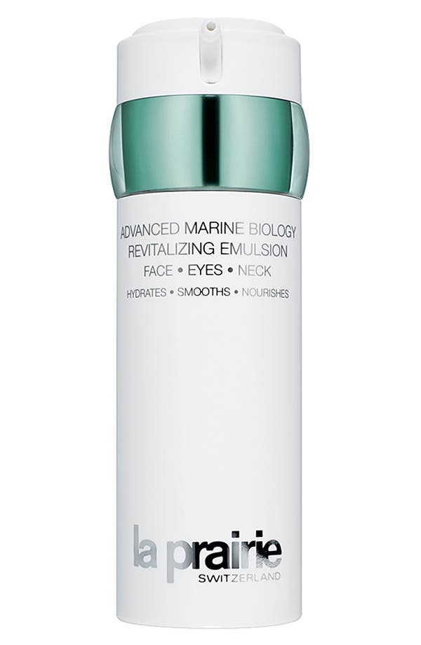 Alternate Image 1 Selected - La Prairie Advanced Marine Biology Revitalizing Emulsion