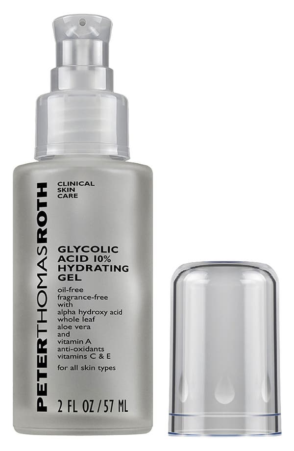 Alternate Image 1 Selected - Peter Thomas Roth Glycolic Acid 10% Hydrating Gel