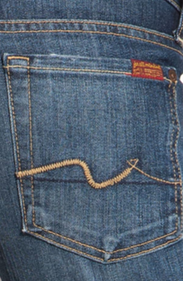 Alternate Image 3  - 7 For All Mankind® Bootcut Jeans (Regular & Short) (Nouveau New York)
