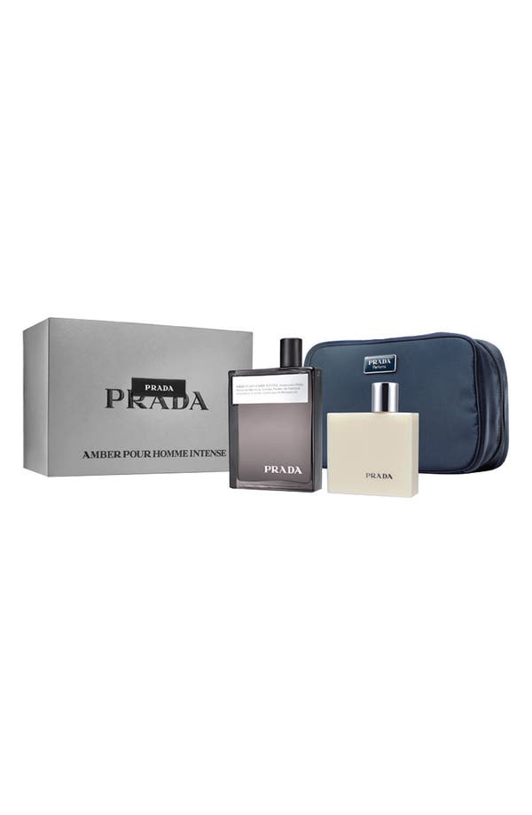 Alternate Image 3  - Prada 'Amber pour Homme Intense' Gift Set ($125 Value)