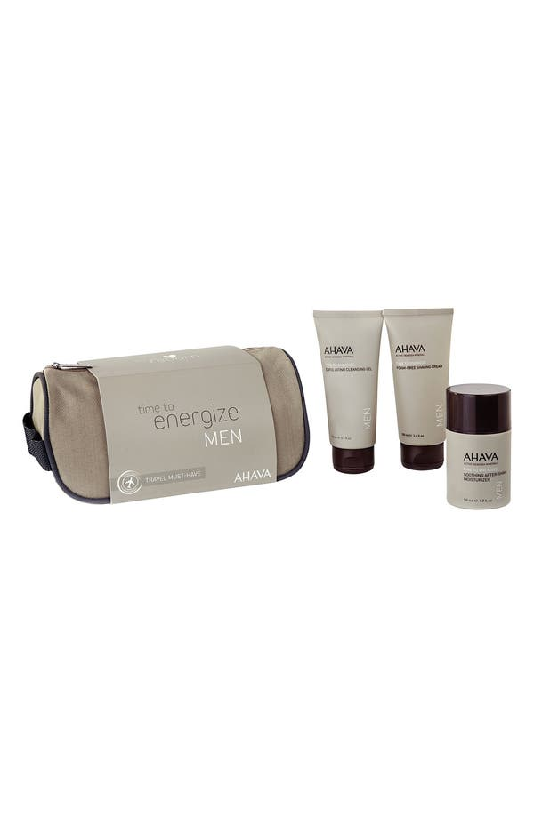 Alternate Image 1 Selected - AHAVA MEN Travel Kit ($80 Value)