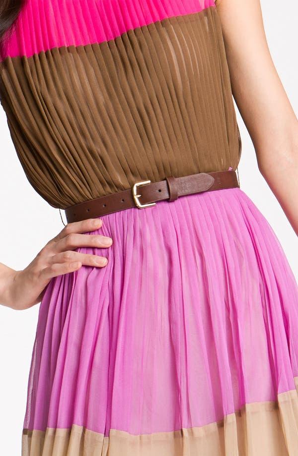 Alternate Image 3  - Julie Dillon Colorblock Chiffon Dress