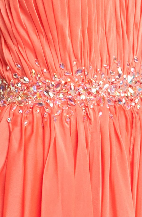 Alternate Image 3  - La Femme Strapless Minidress