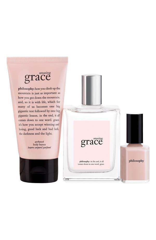 Alternate Image 2  - philosophy 'amazing grace' gift set ($70 Value)
