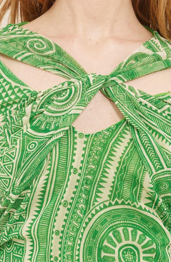 Alternate Image 3  - Jean Paul Gaultier Fuzzi Twist Front Print Tulle Top