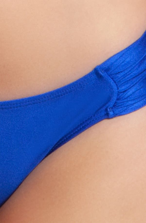 Alternate Image 3  - Luli Fama Scrunch Side Bikini Bottoms