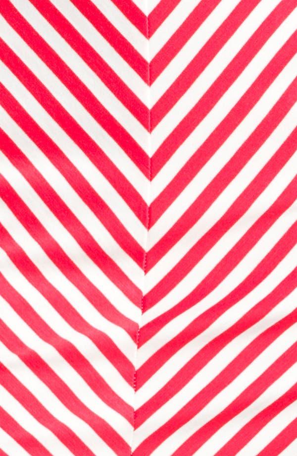Alternate Image 3  - Necessary Objects Stripe Miniskirt (Juniors)