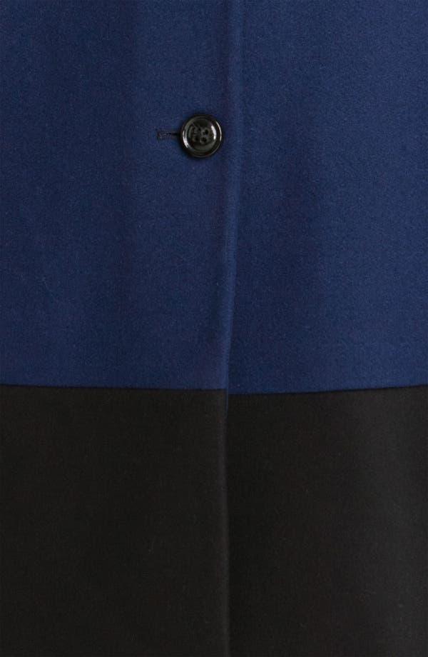 Alternate Image 3  - MICHAEL Michael Kors Colorblock Coat (Plus)