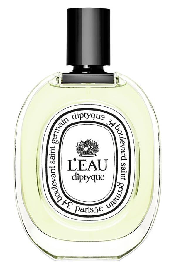 Alternate Image 1 Selected - diptyque 'L'Eau diptyque' Eau de Toilette