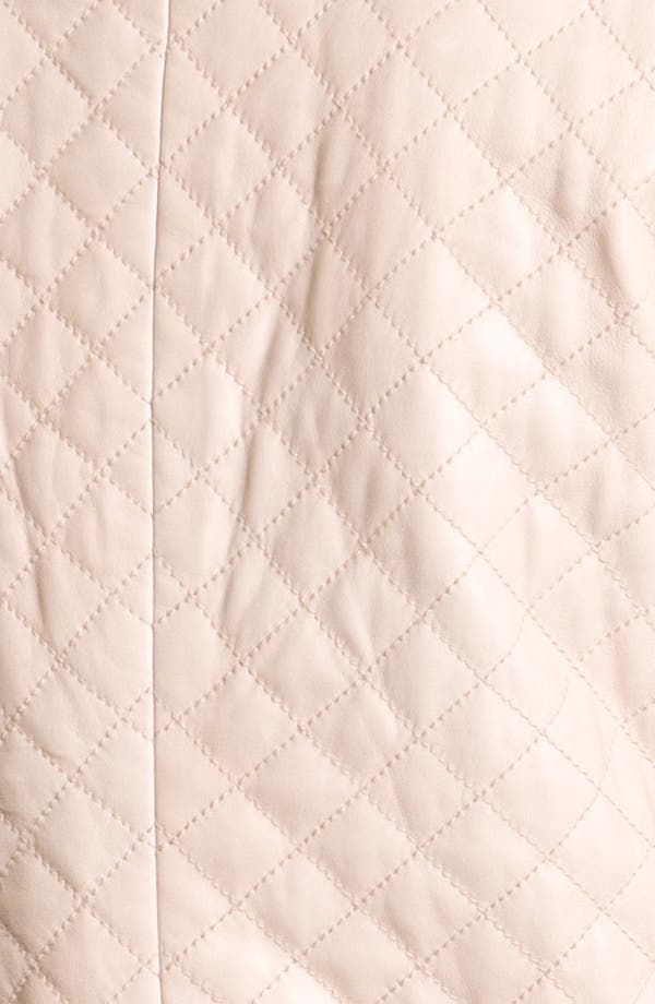 Alternate Image 3  - Hinge® Quilted Leather Jacket