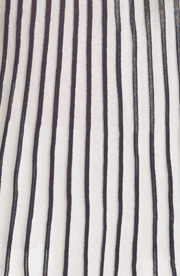 Alternate Image 3  - BCBGMAXAZRIA Pleated V-Neck Sweater Dress