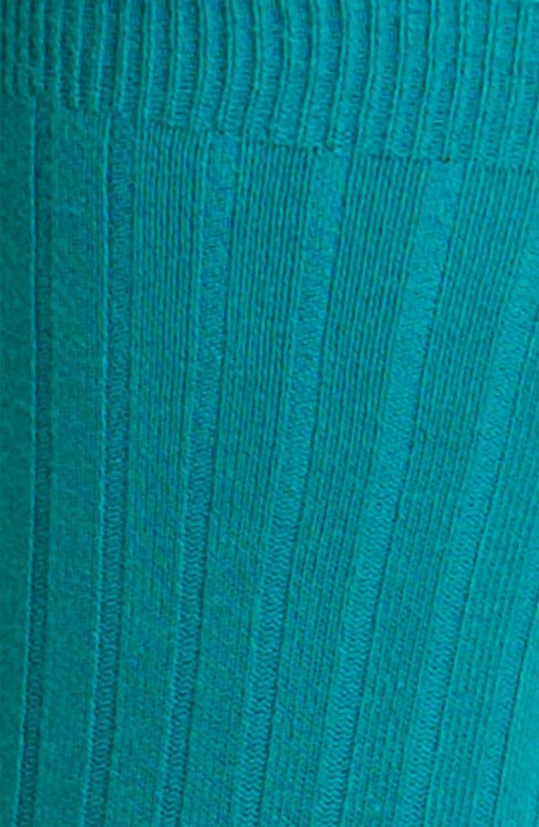Alternate Image 2  - Nordstrom Rib Crew Socks