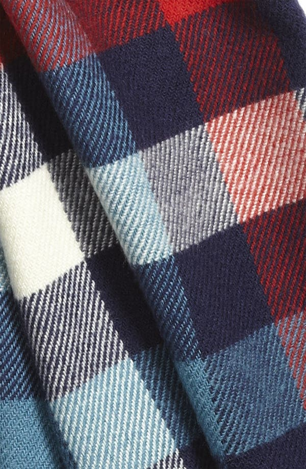 Alternate Image 2  - Free Authority Americana Plaid Knit Scarf