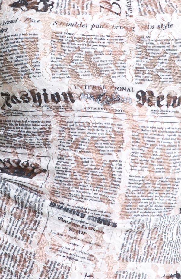 Alternate Image 3  - Hanky Panky 'Headlines' Lace Camisole