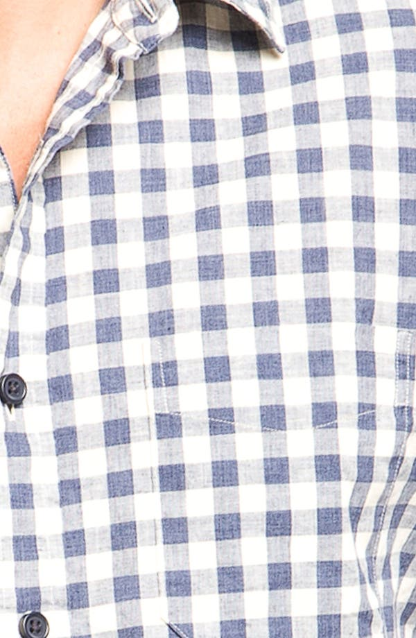 Alternate Image 3  - Wallin & Bros. Check Poplin Sport Shirt