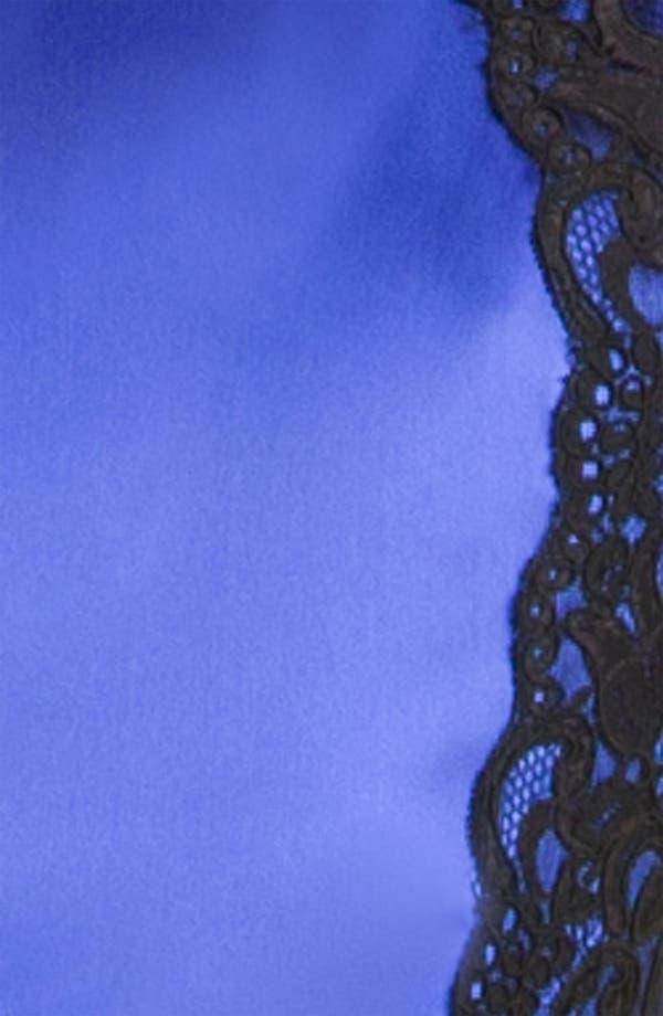 Alternate Image 3  - David Meister Lace & Satin Sheath Dress