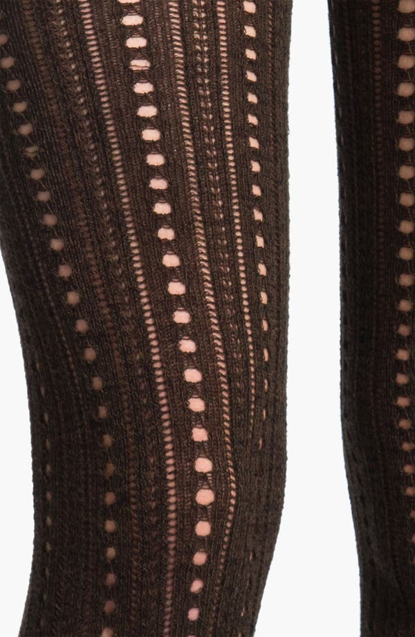 Alternate Image 2  - Hue Pointelle Sweater Tights