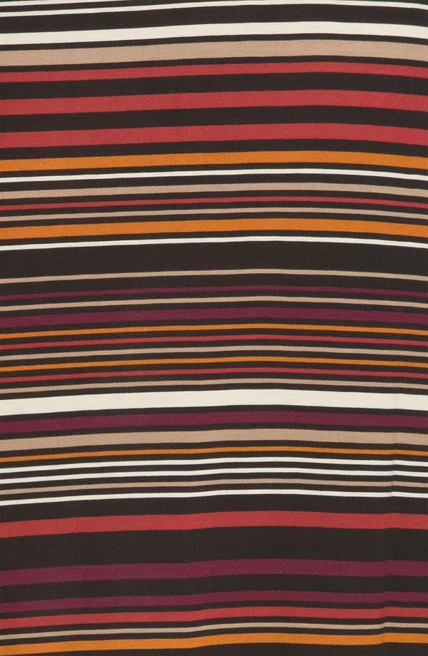 Alternate Image 3  - Karen Kane Stripe Maxi Skirt (Plus)