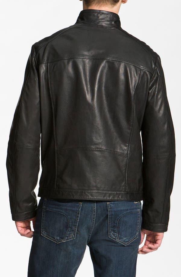 Alternate Image 2  - BOSS Black 'Adillon' Leather Jacket