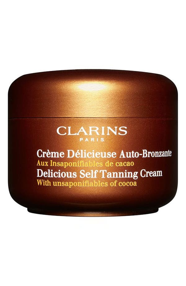 Alternate Image 1 Selected - Clarins 'Delicious' Self-Tanning Cream