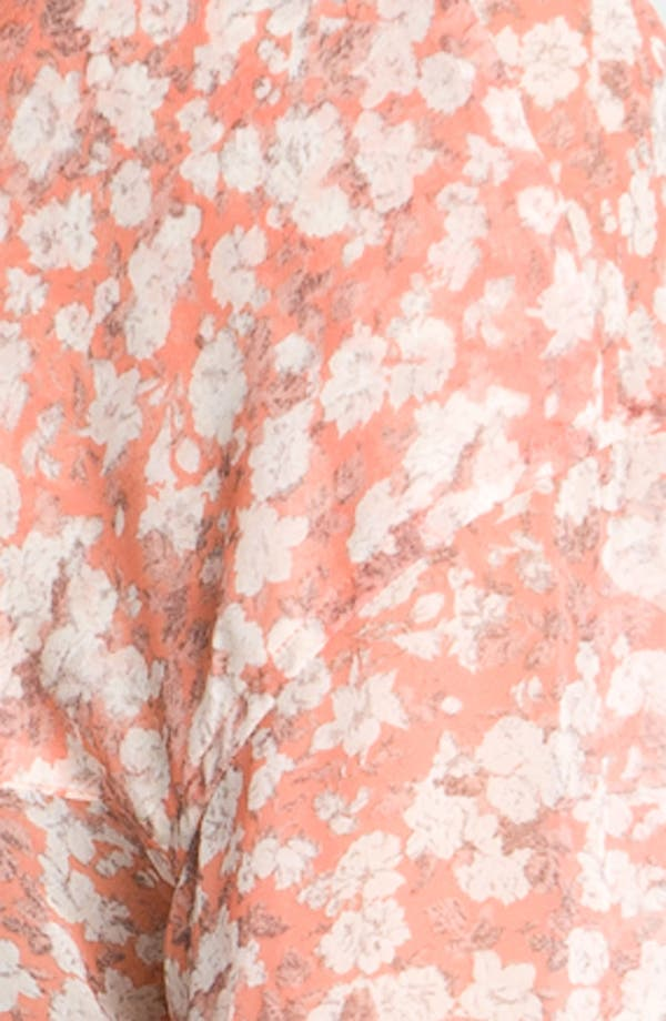 Alternate Image 3  - Free People Printed Georgette Shirt