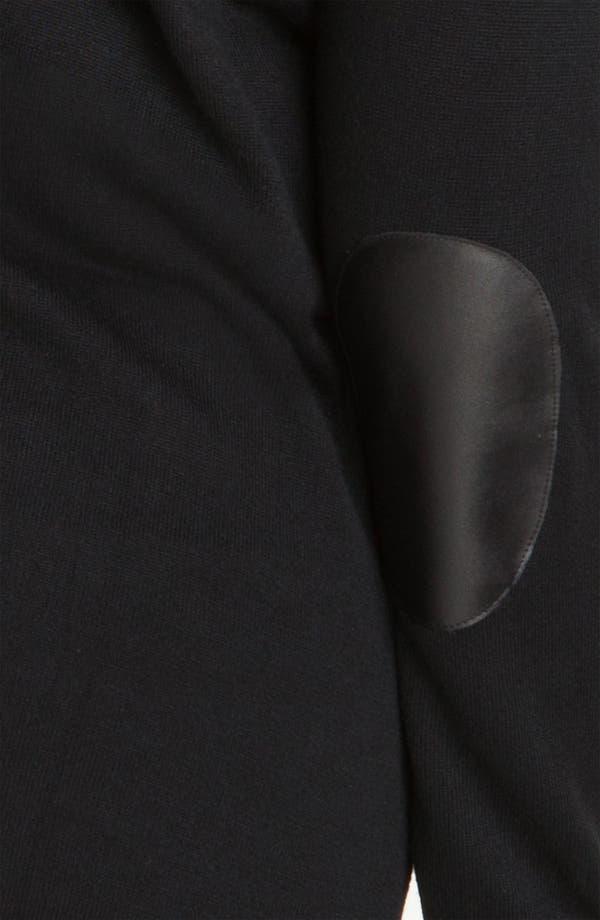 Alternate Image 3  - Vince Camuto Elbow Patch Cardigan (Plus)