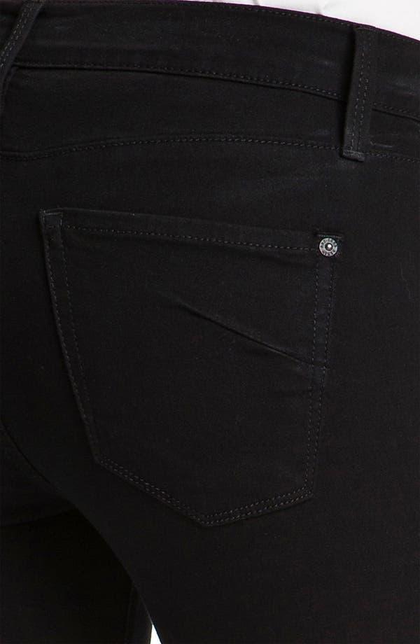 Alternate Image 3  - James Jeans 'Ritchie' Slim Jeans (Black Clean) (Petite) (Online Exclusive)
