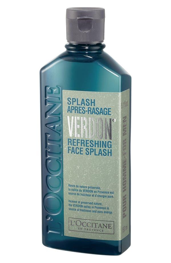 Alternate Image 1 Selected - L'Occitane 'Pour Homme - Verdon®' Refreshing Face Splash