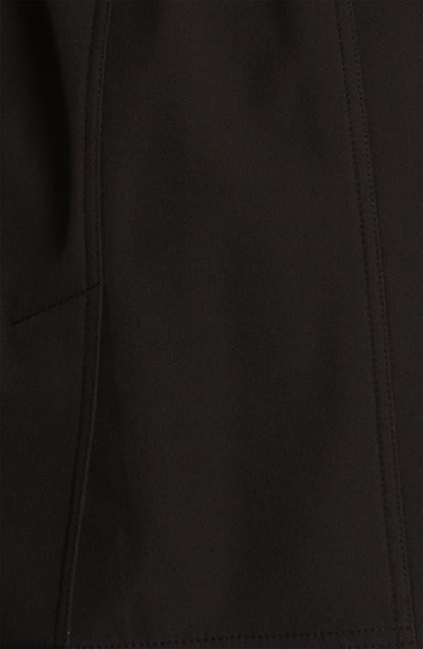 Alternate Image 3  - Calvin Klein Knit Collar Belted Coat