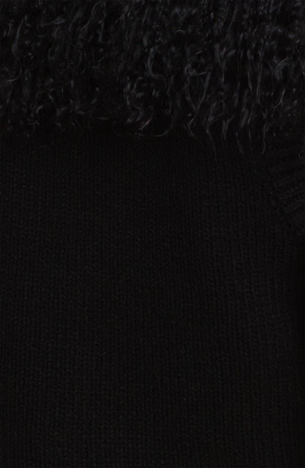 Alternate Image 3  - Jessica Wilde Genuine Tibetan Lamb Fur & Knit Vest