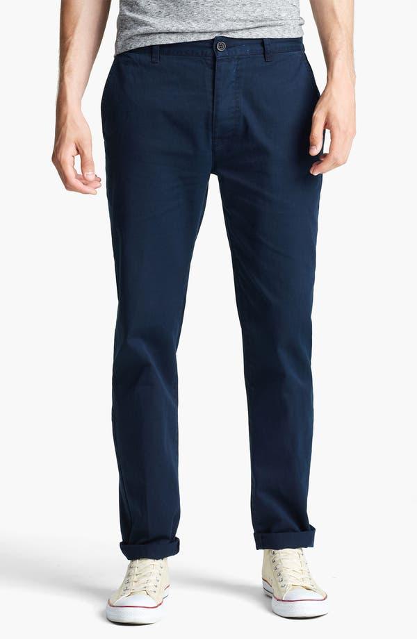 Alternate Image 1 Selected - Topman Slim Fit Chinos