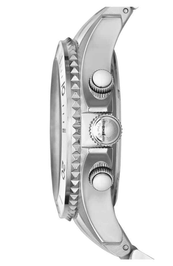 Alternate Image 3  - MARC JACOBS 'Rock' Chronograph Bracelet Watch