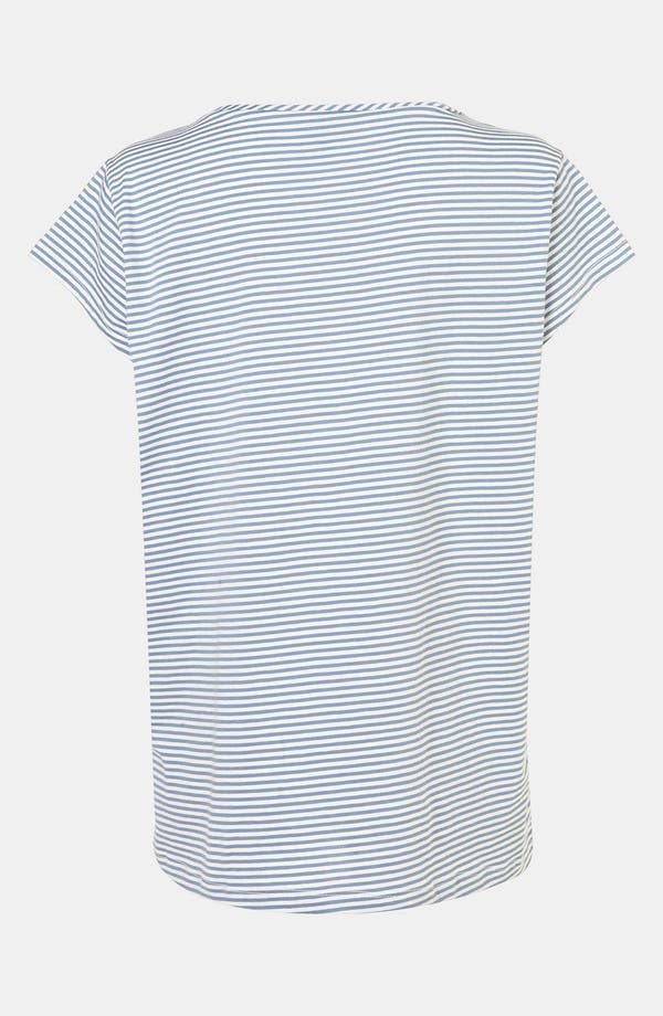 Alternate Image 3  - Topshop Stripe Maternity Pajama Tee