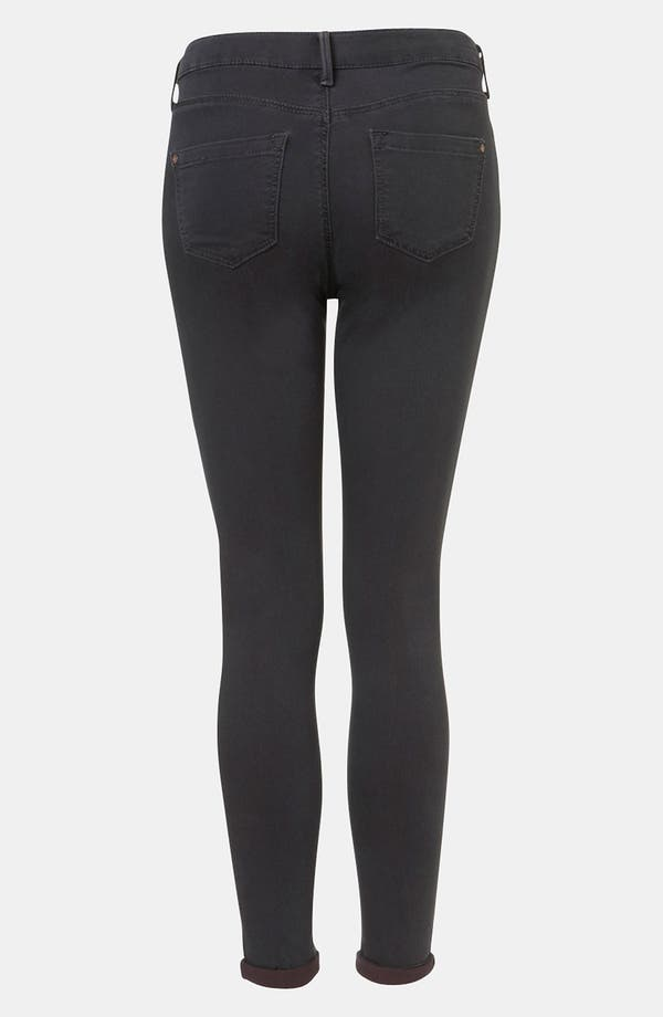Alternate Image 2  - Topshop Moto 'Leigh' Skinny Jeans (Petite)