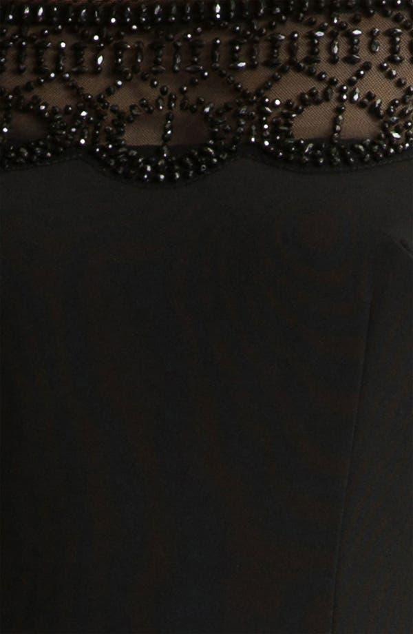 Alternate Image 3  - Alexia Admor Bead Trim Off the Shoulder Sheath Dress