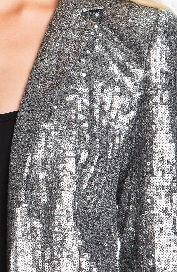 Alternate Image 3  - MICHAEL Michael Kors Sequin Blazer