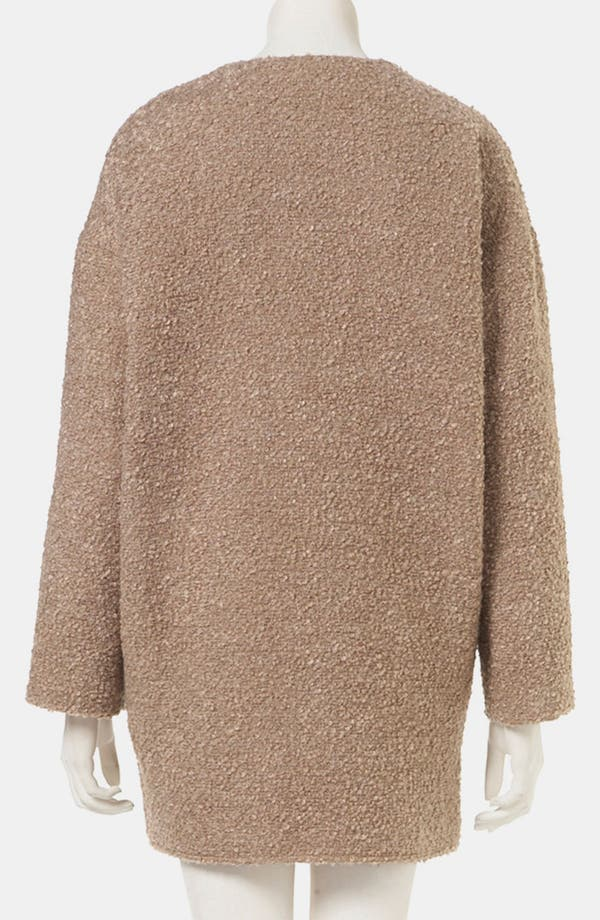 Alternate Image 2  - Topshop Structured Bouclé Coat