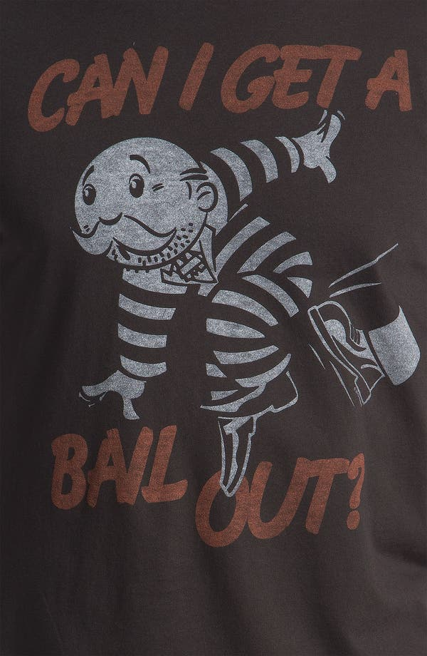 "Alternate Image 3  - Junk Food 'Can I Get a Bail Out"" Graphic T-Shirt"