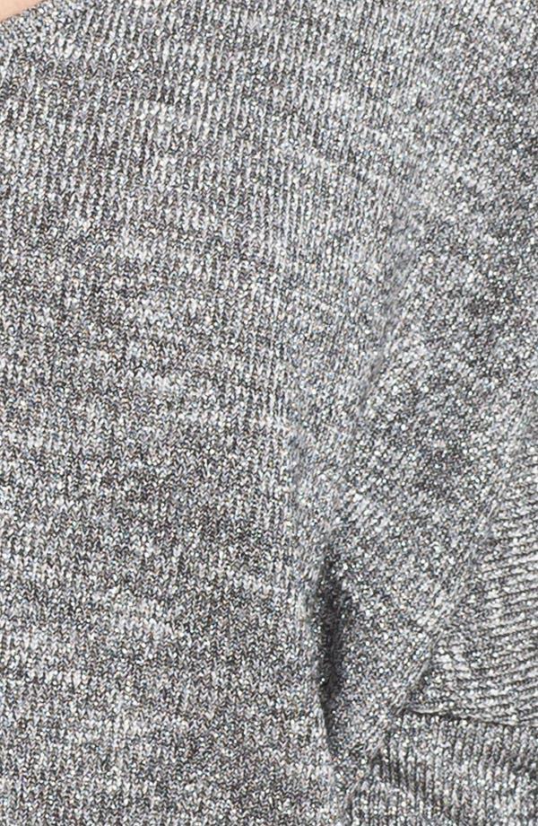 Alternate Image 3  - Velvet Oversized Metallic Sweater (Nordstrom Exclusive)