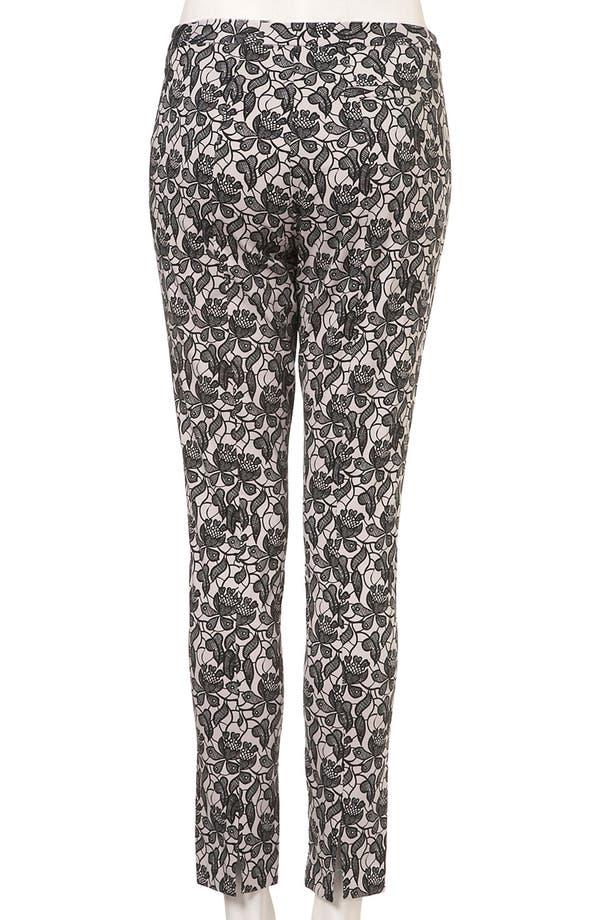 Alternate Image 2  - Topshop Lace Skinny Pants