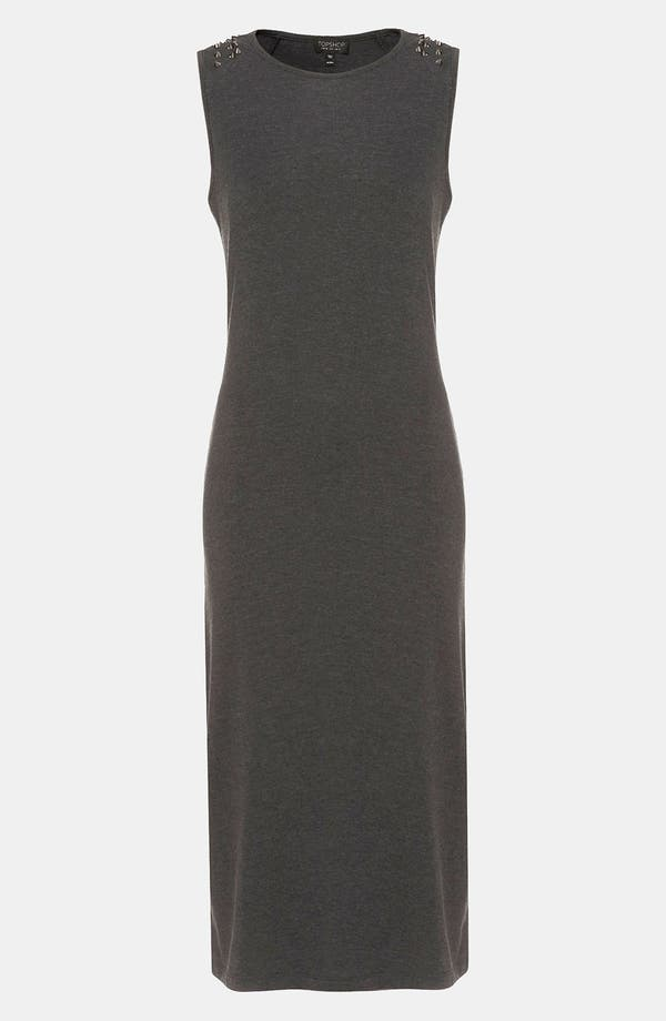 Alternate Image 1 Selected - Topshop Studded Midi Tank Dress