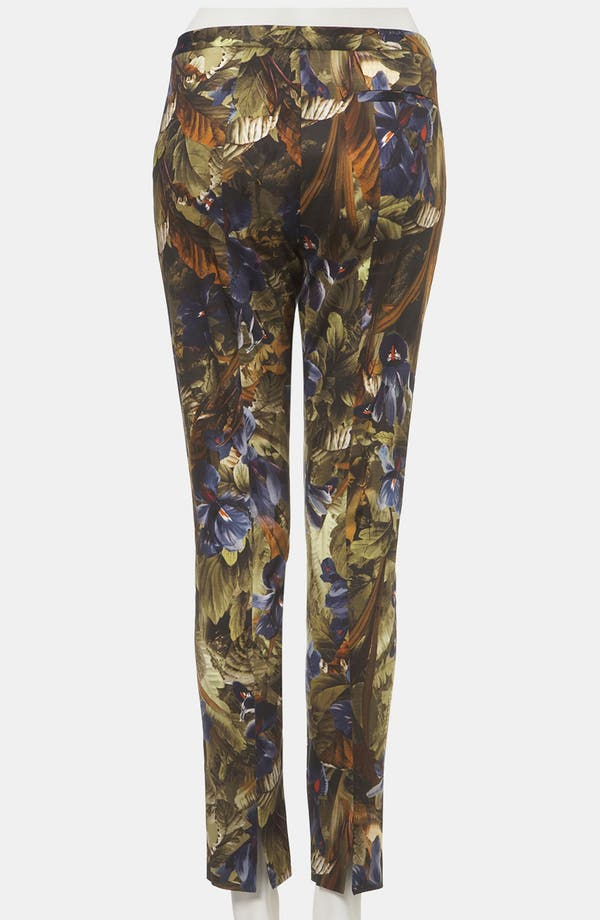 Alternate Image 2  - Topshop Print Skinny Pants