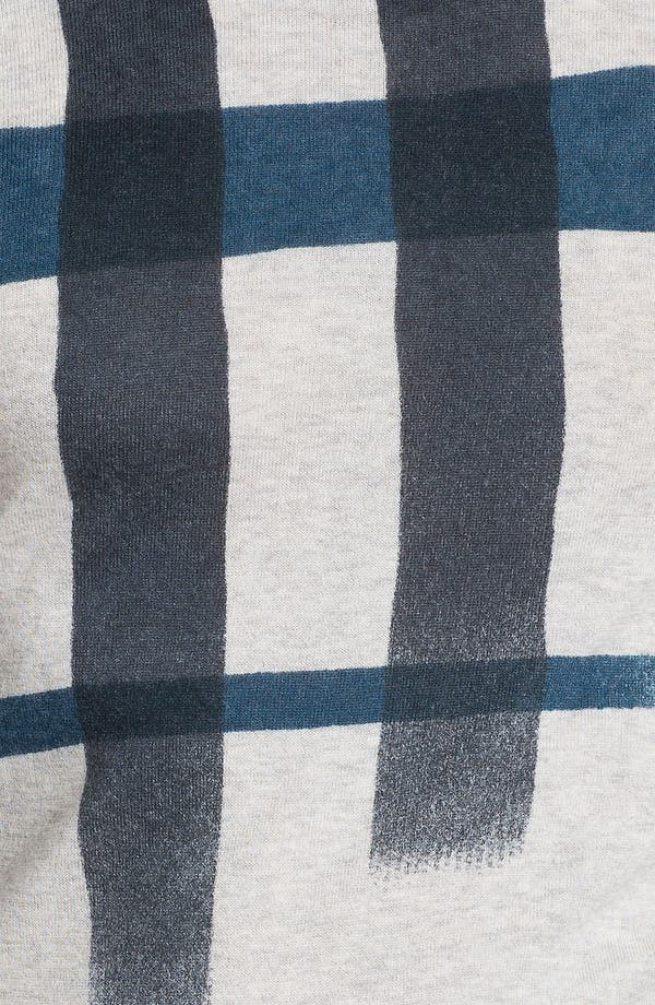 Alternate Image 3  - Burberry Brit Check Sweater