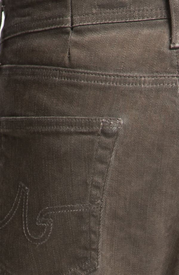 Alternate Image 3  - AG Jeans 'Matchbox' Slim Straight Leg Jeans (Brown Wave)