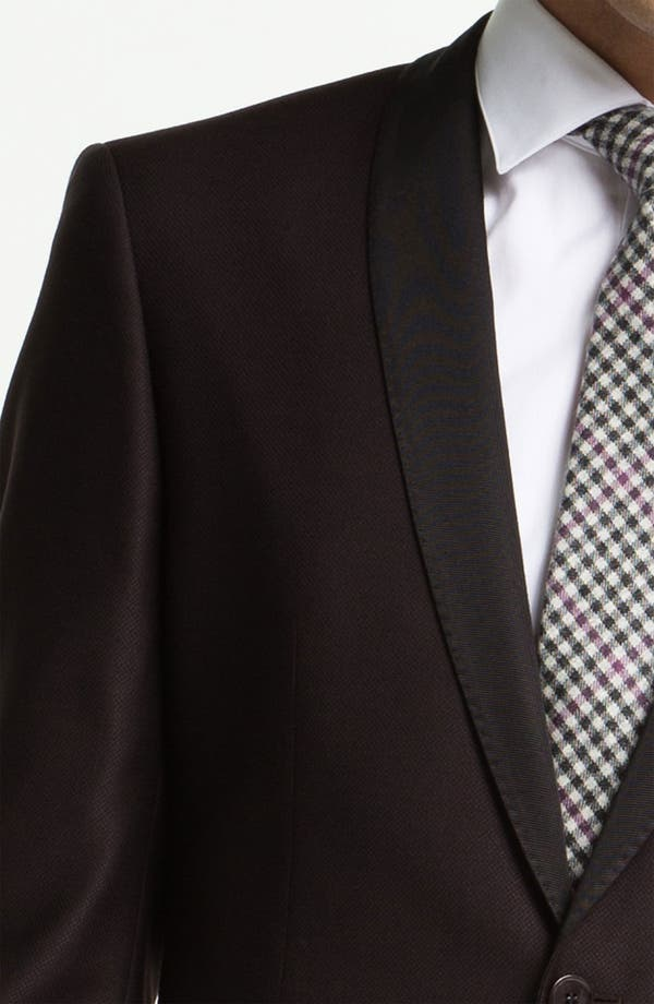 Alternate Image 3  - BOSS Black 'Hyatt' Shawl Lapel Dinner Jacket