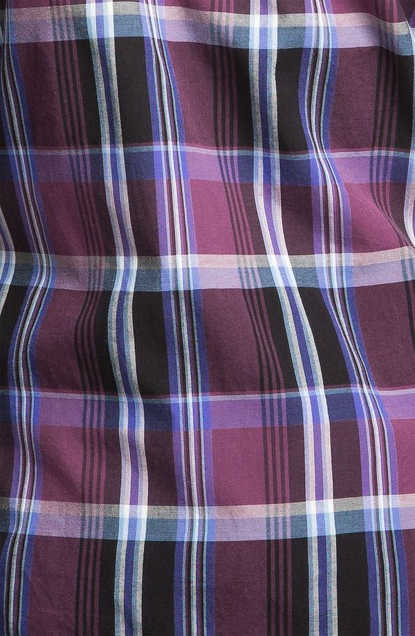 Alternate Image 3  - Public Opinion Plaid Poplin Western Shirt