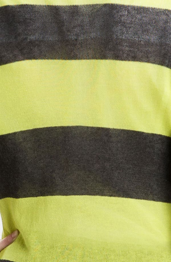 Alternate Image 3  - Caslon® Snap Front Tissue Weight Cardigan (Petite)