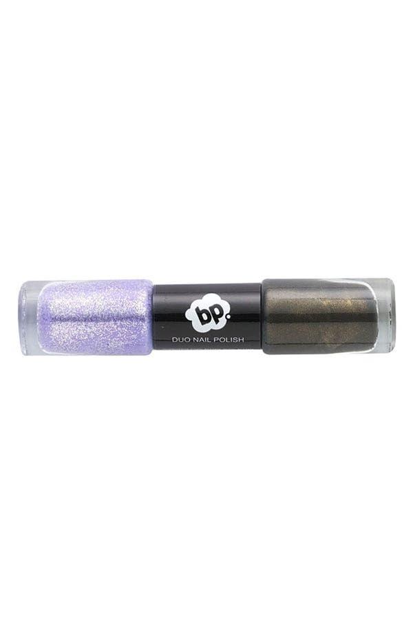 Main Image - BP. 'Purple Glitter & Slate' Nail Polish Duo
